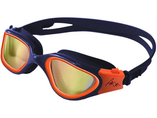 Zone3 Vapour Swimglasses Polarized polarized lens-navy/hi-vis orange
